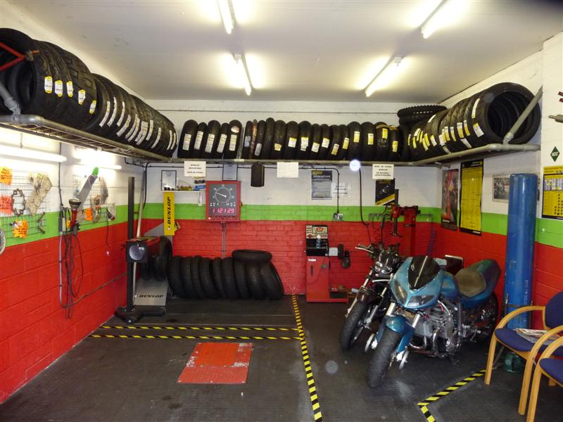 image showing Some of the fast moving tyres we stock in our tyre bay.