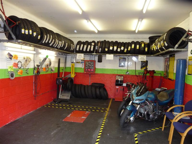 image showing Our MOT and tyre bay