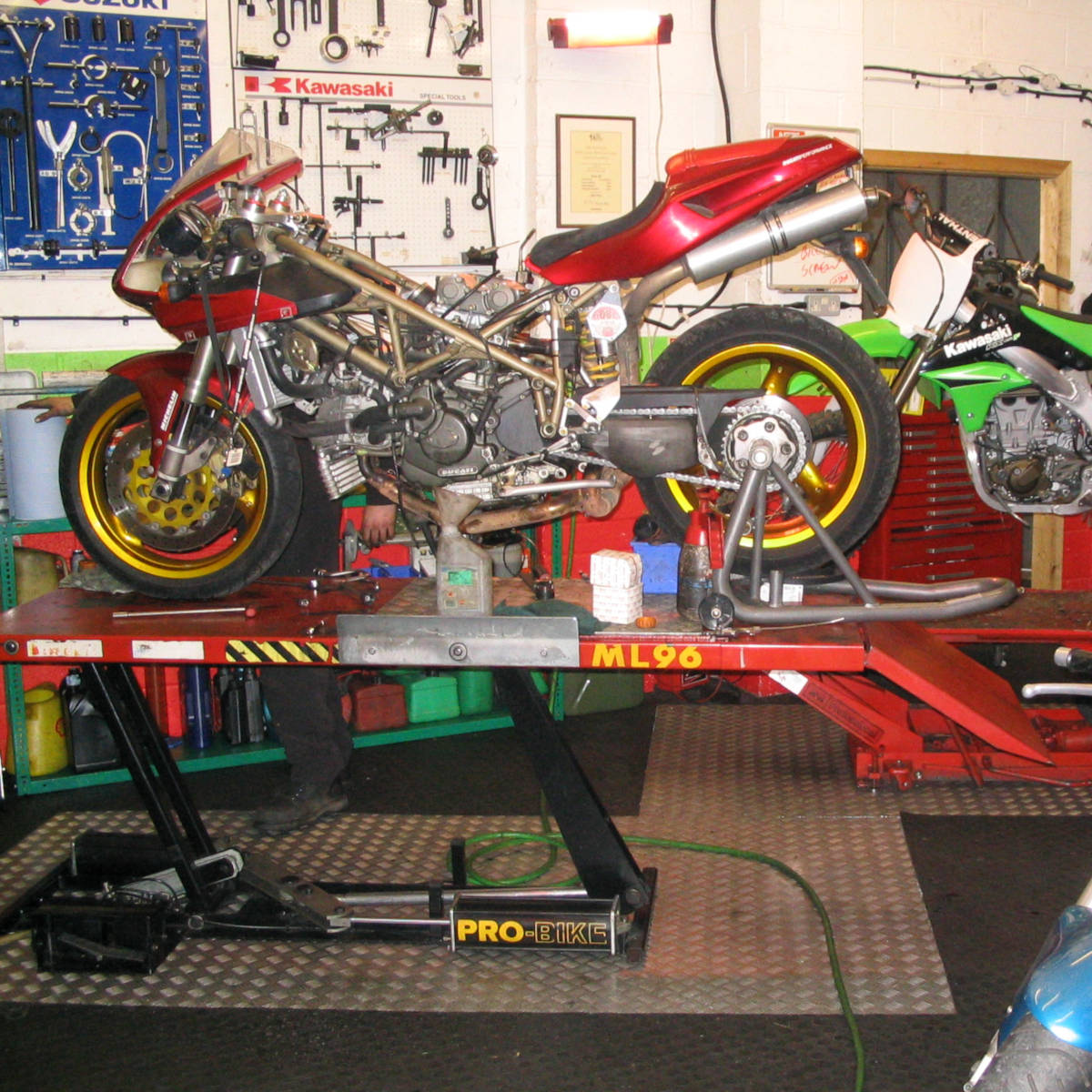 Full Range of Services: For a full range of services on a wide variety of bikes, you can count on GP Performance
