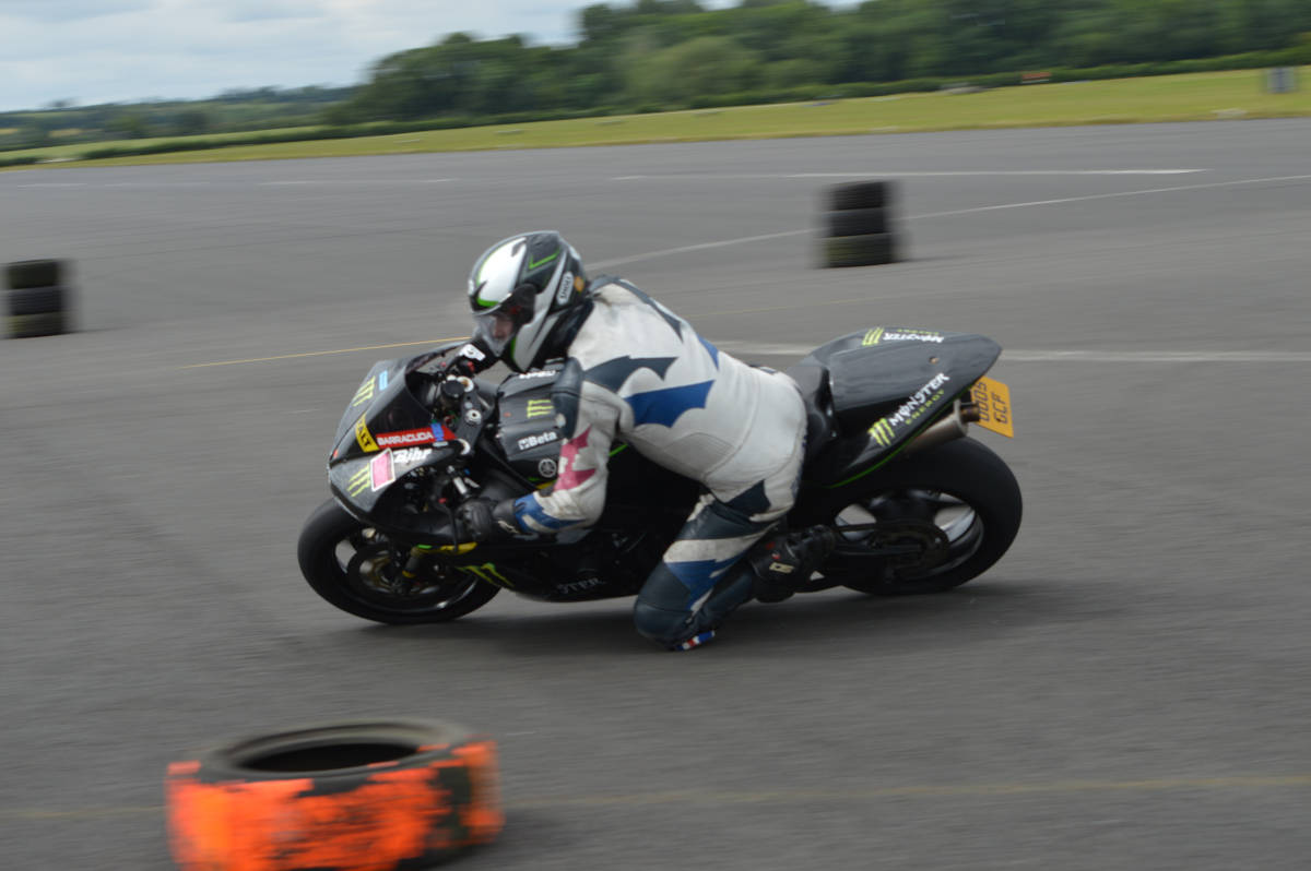 image showing Track days are important for us to test components and ideas