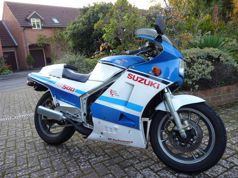 Image of Suzuki's RG500 brought real GP bike technology to the road rider