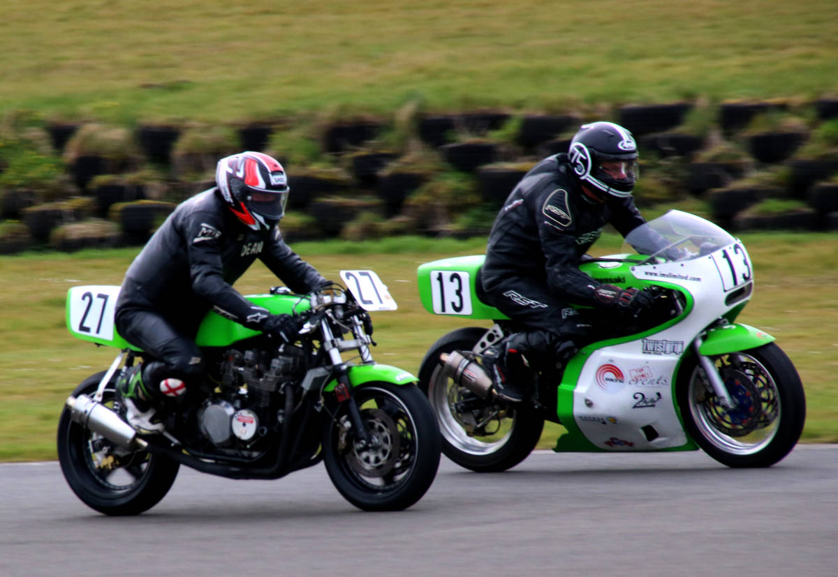 image showing Track days give valuable opportunities to try out parts and settings.