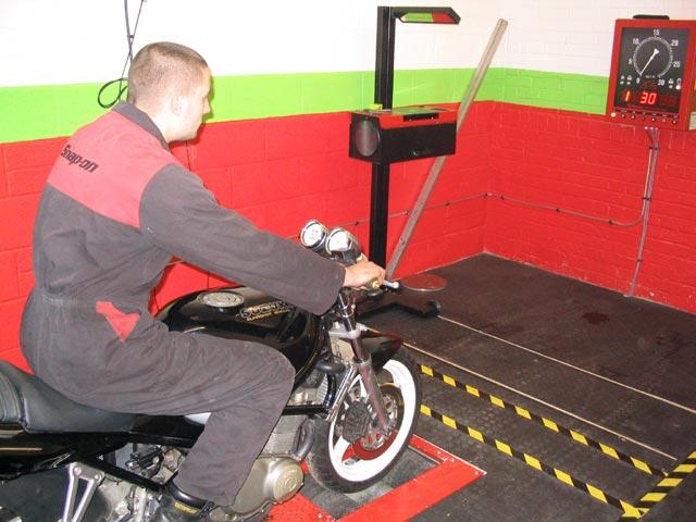 image showing Rolling Brake Tester