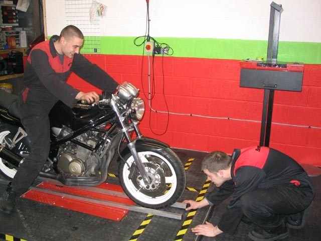 image showing Careful Wheel Alignment Checking